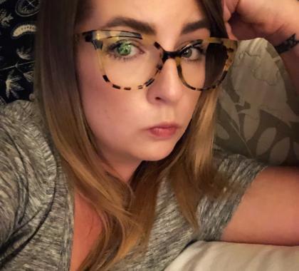 808f240ac5a Muse x Hilary Duff Zora Prescription Eyeglasses
