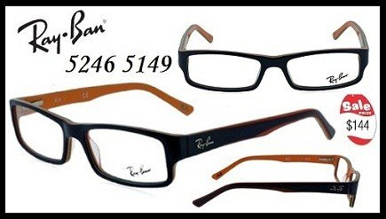 82c2b5c5625 The Ray-Ban 5246 5149 are very funky glasses online. The thick high-grade  plastic framing fully surrounds the near-perfect