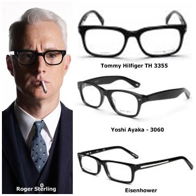 stylish frames for mens glasses  GlassesUSA.com Blog - Recent Posts - MAD MEN and their COOL Men\u0027s ...