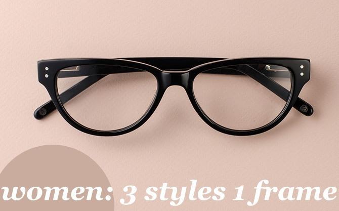 3 Styles 1 Frame