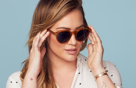 9f3c9329fb GlassesUSA.com Blog - Recent Posts - Hilary Duff s Exclusive New ...