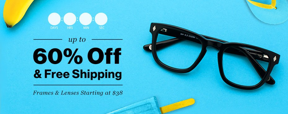 up to 60% off + free shipping