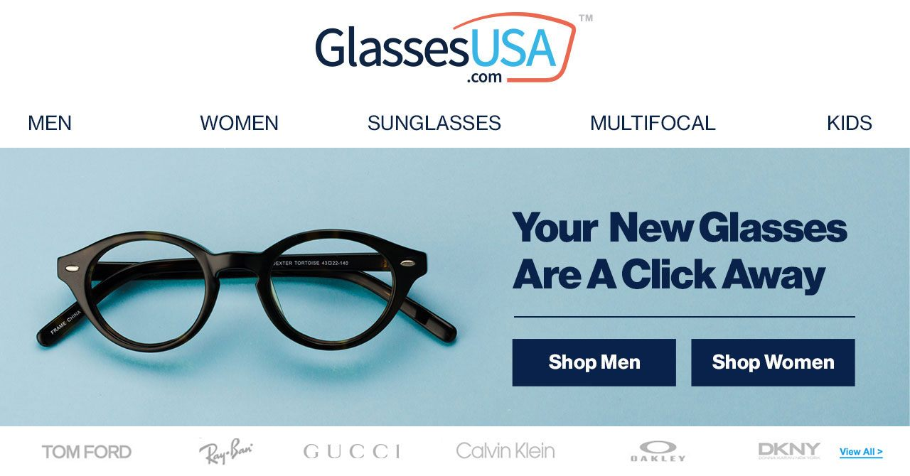 c65f4bc44dec Eyeglasses - Prescription glasses, eyewear, buy glasses online - GlassesUSA